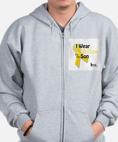Yellow for Son Zip Hoodie