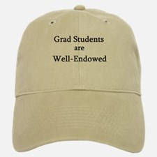 Well-Endowed Grad Baseball Baseball Cap