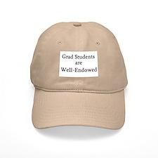 Well-Endowed Grad Baseball Cap