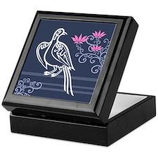 Baha'i Arabic Bird Box-Purple