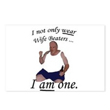 Wife Beater Postcards (Package of 8)