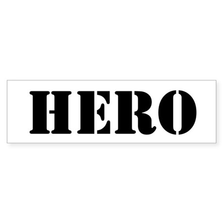 Hero Sticker (Bumper 10 pk)