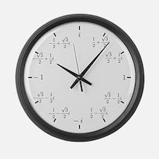 Complex (Cartesian) Large Wall Clock