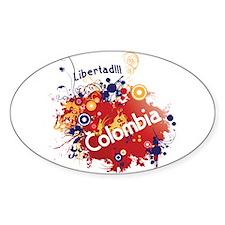 COLOMBIA RETRO Decal
