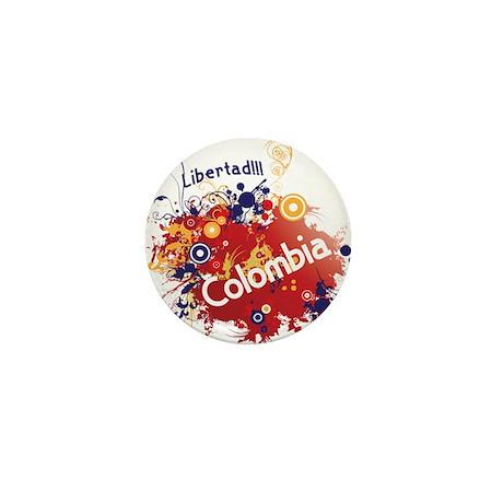 COLOMBIA RETRO Mini Button (100 pack)