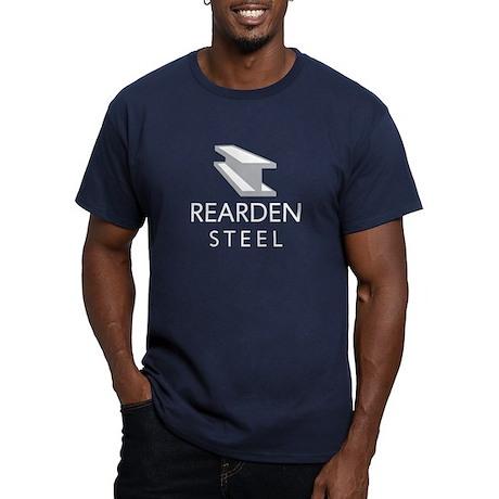 Rearden Steel Men's Fitted T-Shirt (dark)