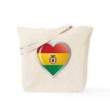 Bolivia corazon Tote Bag