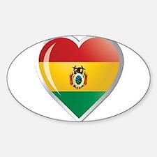 Bolivia corazon Decal