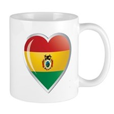 Bolivia corazon Mug