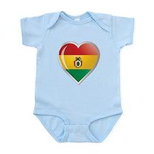 Bolivia corazon Infant Bodysuit