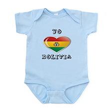 Yo amo bolivia Infant Bodysuit