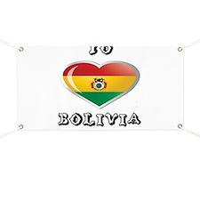 Yo amo bolivia Banner