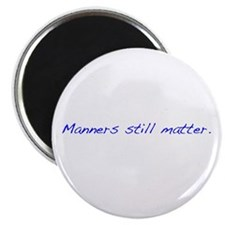 Manners Magnet