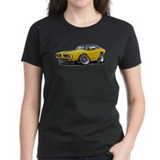 Charger Yellow-Black Top Car Tee
