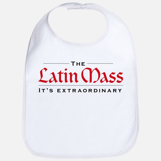 Extraordinary Latin Mass Bib