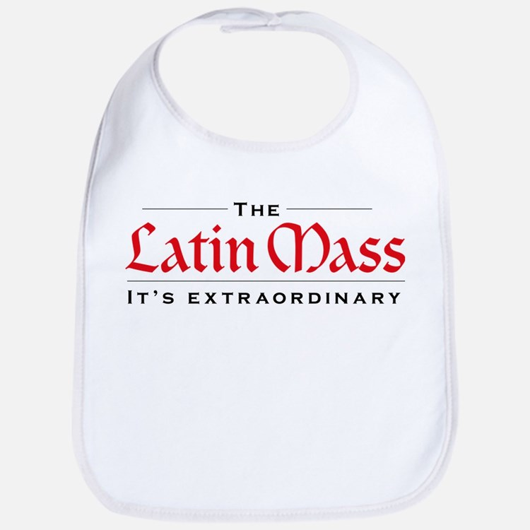 Extraordinary Latin Mass Bib