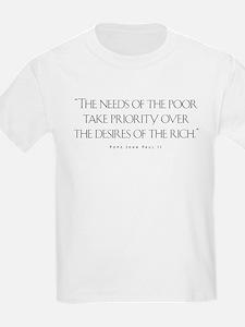 Cute Pope john paul T-Shirt