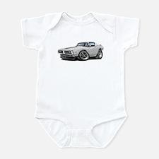1971-72 Charger White-Black Car Infant Bodysuit