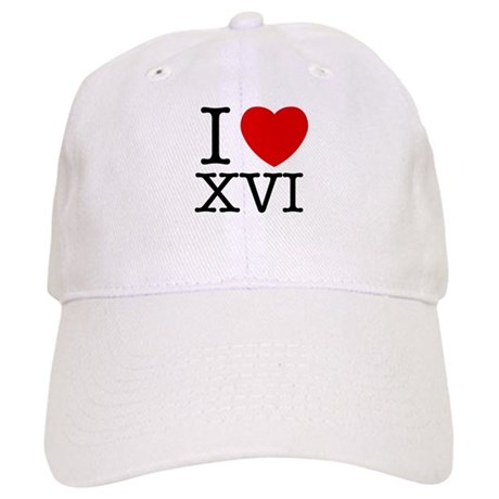 I Love XVI Cap
