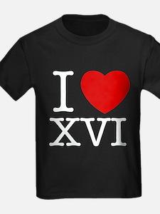I Love XVI T