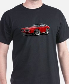 Charger Red-Black Car T-Shirt