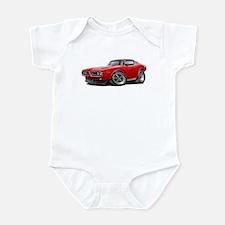 1971-72 Charger Red Car Infant Bodysuit