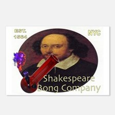 Shakespeare Bong Company Postcards (Package of 8)