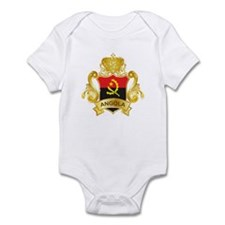 Gold Angola Infant Bodysuit