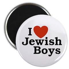 I Love Jewish Boys Magnet