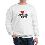 I Love Jewish Boys Sweatshirt