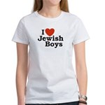 I Love Jewish Boys Women's T-Shirt