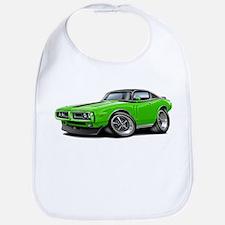 Charger Lime-Black Top Car Bib