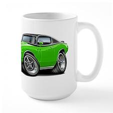 Charger Lime-Black Top Car Mug