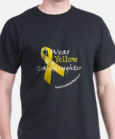 Yellow for Granddaughter T-Shirt