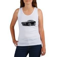 Charger Black-White Car Women's Tank Top