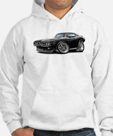 Charger Black-White Car Hoodie