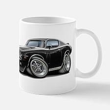 Charger Black-White Car Mug