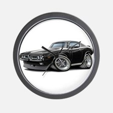Charger Black-White Car Wall Clock