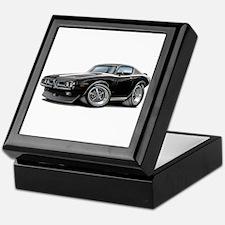 Charger Black-White Car Keepsake Box