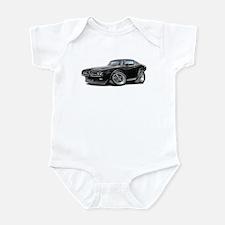 1971-72 Charger Black Car Infant Bodysuit