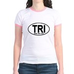 TRI (Triatlete) Euro Oval Jr. Ringer T-Shirt