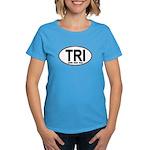 TRI (Triatlete) Euro Oval Women's Dark T-Shirt