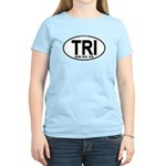 TRI (Triatlete) Euro Oval Women's Light T-Shirt