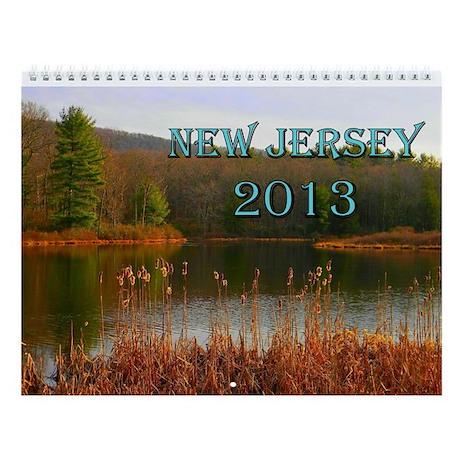 Scenic New Jersey 2013 Wall Calendar