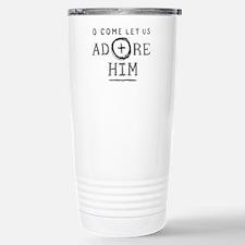 Adore Him Travel Mug