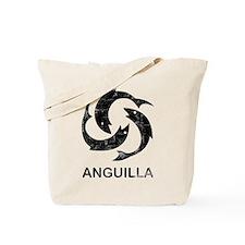 Vintage Anguilla Tote Bag
