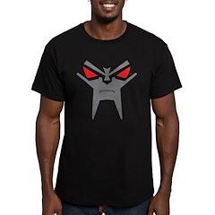 Evil Robot Men's Fitted T-Shirt (dark)