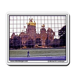 Iowa State Capitol, Reflected, Des Moines,Mousepad