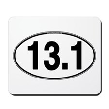 13.1 Euro Oval Mousepad