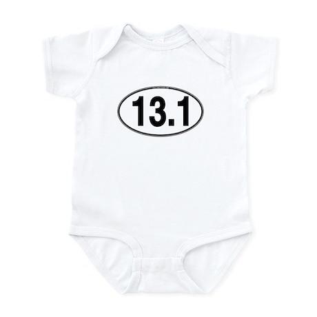 13.1 Euro Oval Infant Bodysuit